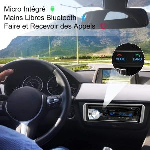Autoradio Bluetooth, CENXINY 1 DIN