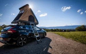 Avis et test sur la tente de toit voiture Naïtup Hussarde Duo